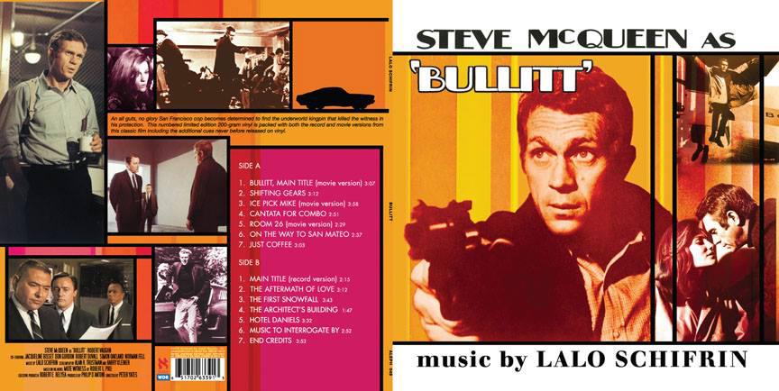 bullitt vinyl release